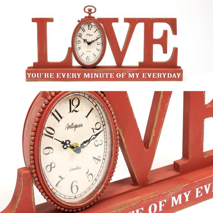 Relógio Love | A Loja do Gato Preto | #alojadogatopreto | #shoponline | referência 74053556