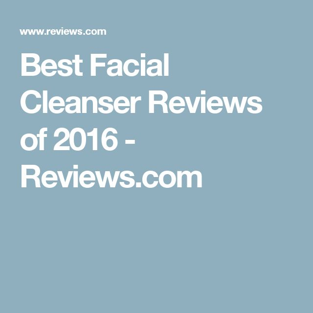 Facial cleansers review slave system