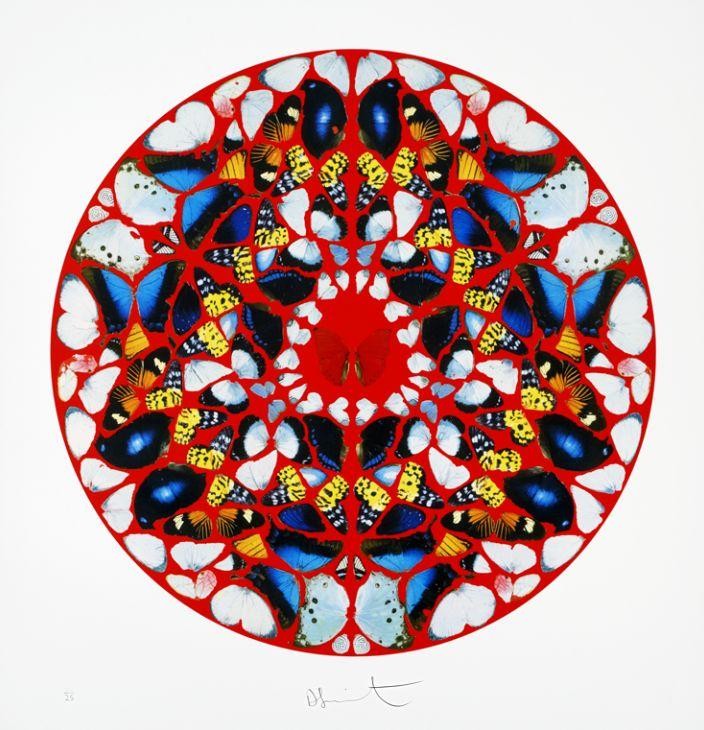 Psalm Print: Domine, ne in furore -  Damien Hirst