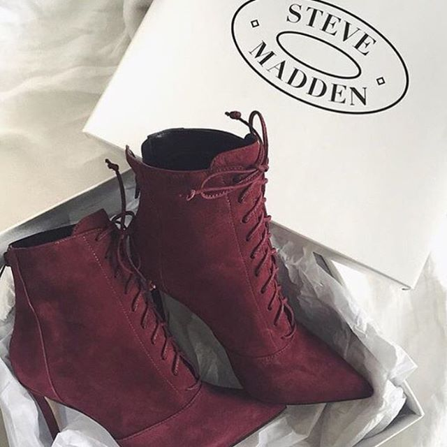 Find this Pin and more on • Shoes •. Steve Madden More edit booties
