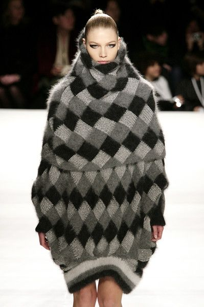 """""""The snow monster woman from legend of Zelda twilight princess"""" hehe it really does look like Yeta. Go home fashion."""