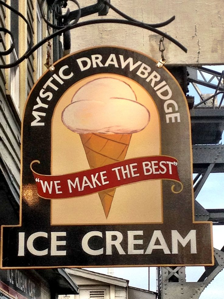 Mystic Drawbridge Ice Cream - Mystic CT