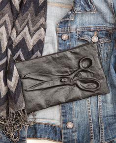 i love sewing!: leder prägen DIY