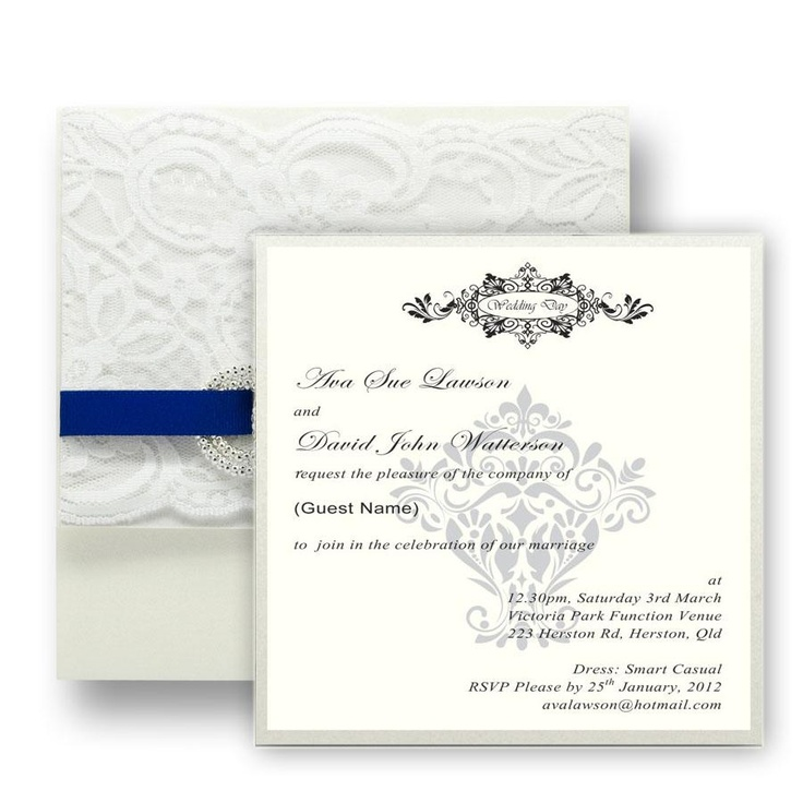 Emilie Invitation - Handmade Wedding Invitations & Unique Wedding Stationery