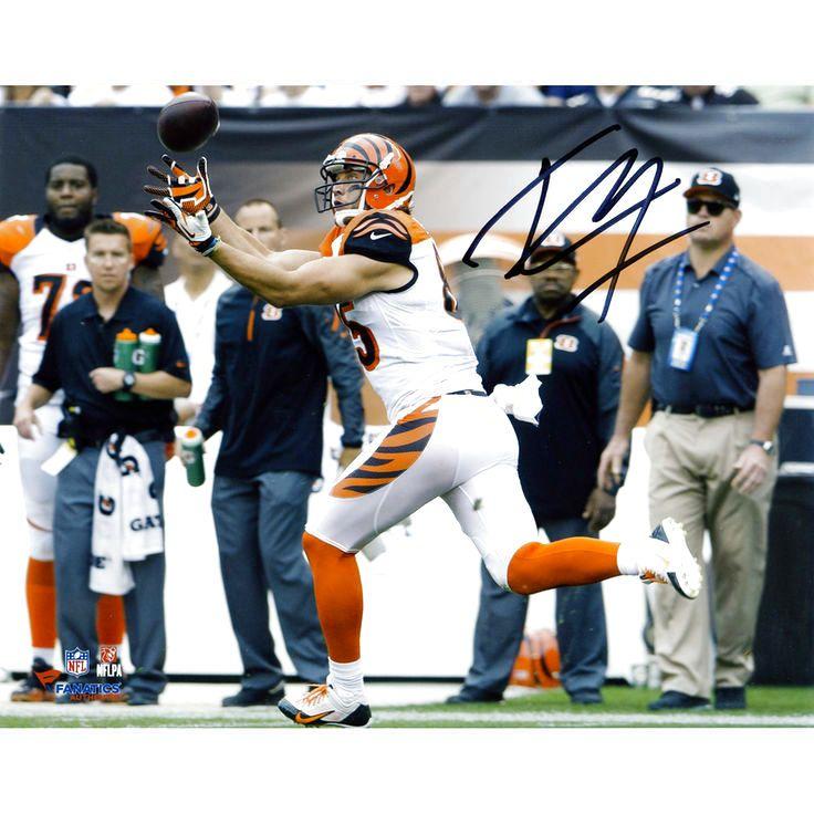 "Tyler Eifert Cincinnati Bengals Fanatics Authentic Autographed 8"" x 10"" Horizontal Catching Photograph - $47.99"
