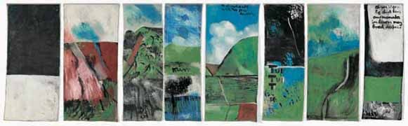 Northland Panels by Colin McCahon for Sale - New Zealand Art Prints