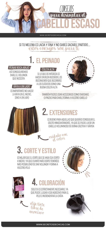 Si tu melena es lacia y fina y no sabes sacarle partido, hoy vengo a darte algunos consejos para ayudar a que tu cabello se vea más abundante.