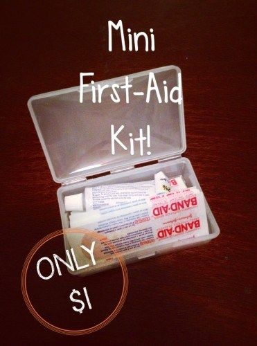 soap box first aid kits for the girls