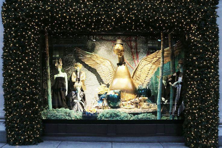 Selfridges, London #windows #holidays