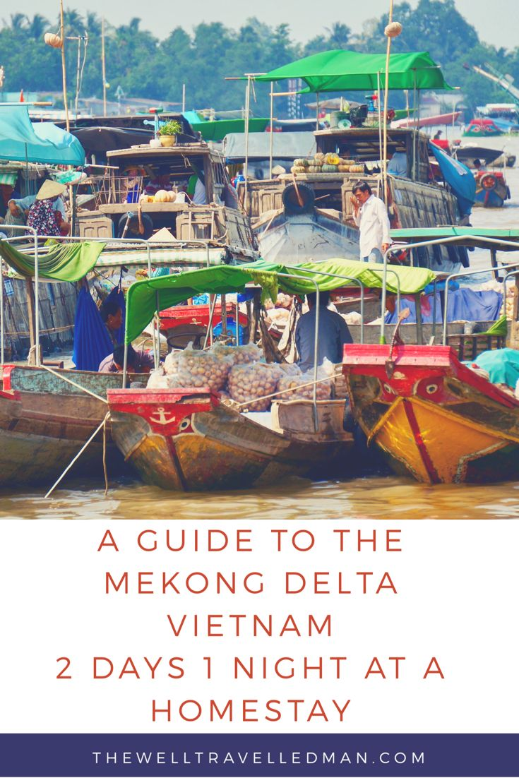What to expect on your 2 day, 1 night tour to the Mekong Delta in Vietnam,