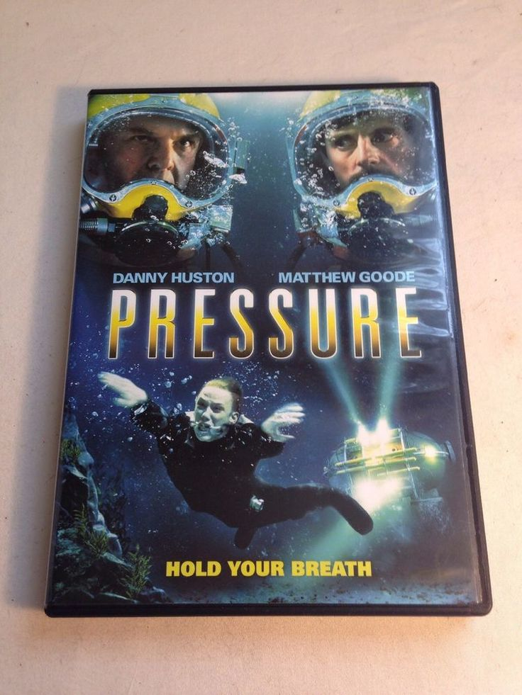 Pressure DVD Danny Huston, Matthew Goode