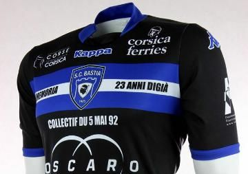 SC Bastia To Wear Furiani Disaster Anniversary Kit vs. ASSE