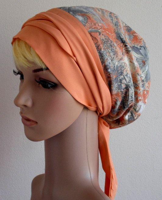 Head Scarf Hair Wrap Tichel  Head Wrap  by accessoriesbyrita, $20.00