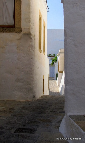 Wandering the Passageways of Chora Patmos
