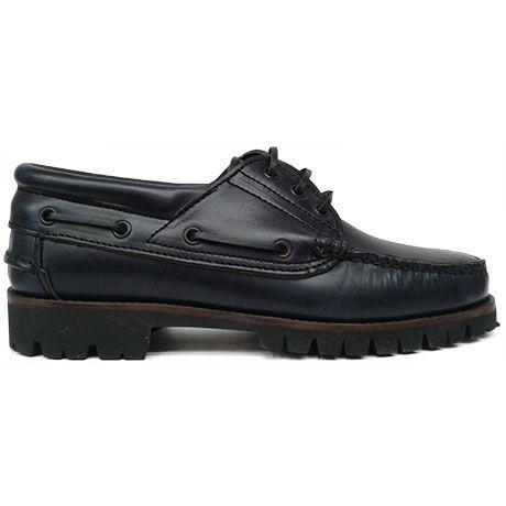 8437 zapato nautico azul marino | Calzados Garrido