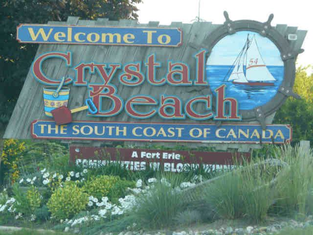 how to get to crystal beach from niagara falls