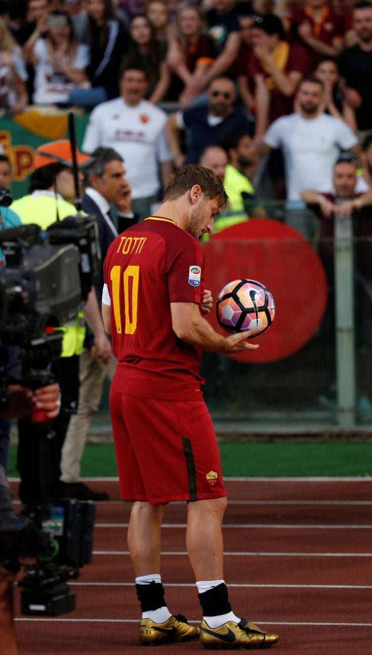 FOTOGRAFÍAS. La despedida de Totti