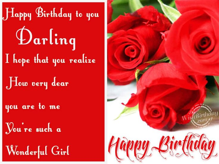 249 best Happy Birthday 4 You images – 123 Birthday Greetings for Lover