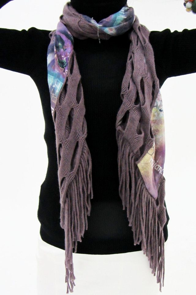 LONG ONE METER LONG  COUNTRY STYLE SCARF QT 489