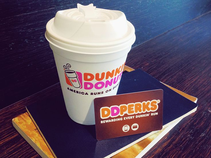Being a Dunkin' fan has its DD Perks! Enroll today & get a FREE medium beverage. Click on pin for deets.