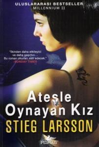 """Okur Testi  """"Ateşle Oynayan Kız - Stieg Larsson"""" (Flickan Som Lekte Med Elden) Pegasus Yayınları http://beyazkitaplik.blogspot.com/2012/02/atesle-oynayan-kz-okur-testi.html"""