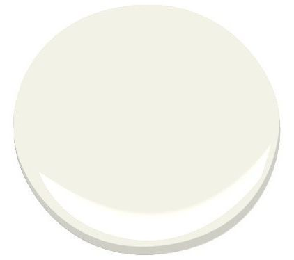 Cloud White by Benjamin Moore (considered one of the best off-whites)
