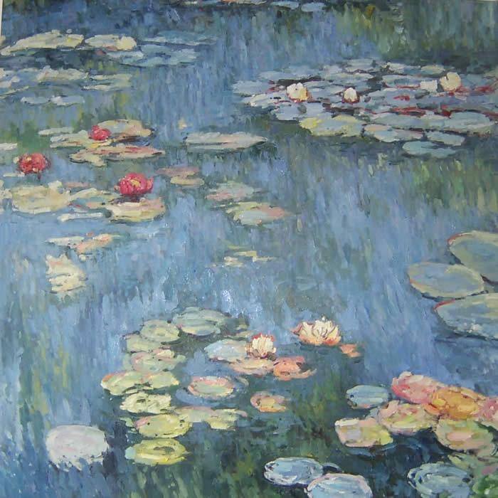 Claude Monet - Water Lily Pond | art | Pinterest