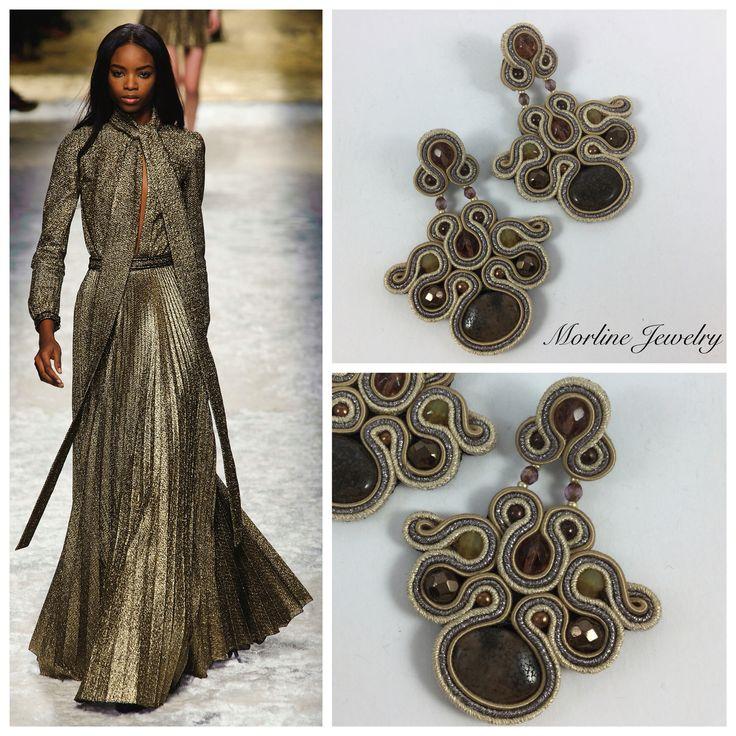 Morline Jewelry Orecchini PENNY Orecchini finemente lavorati a mano in tecnica…