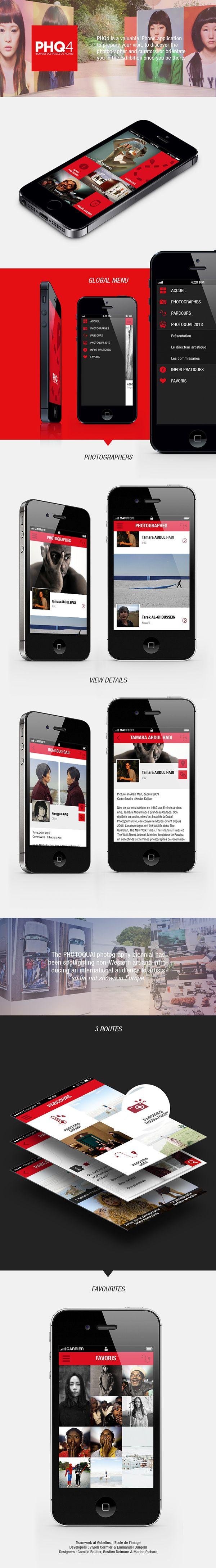 iPhone app : PHQ4 on Behance