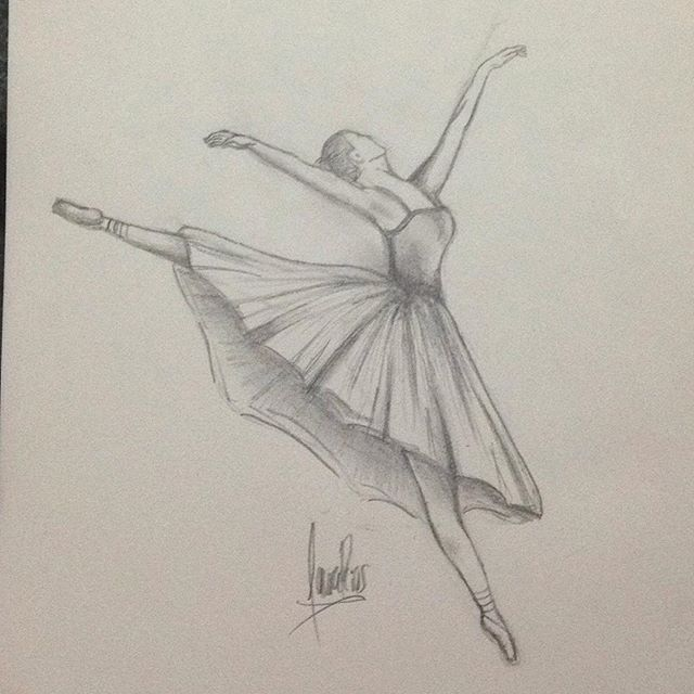 Ballerina Ballerina Cool Cute Draw Drawing Art Art Ballerina Cool Cute Draw Drawing Ballet Drawings Dancing Drawings Art Sketches Pencil