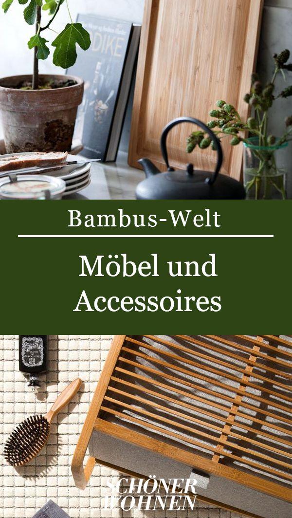 Bambus Im Bad Waschekorb Bamboo Von Move Bild 8 In 2020 Tisch Selber Bauen Bambus Wohnen