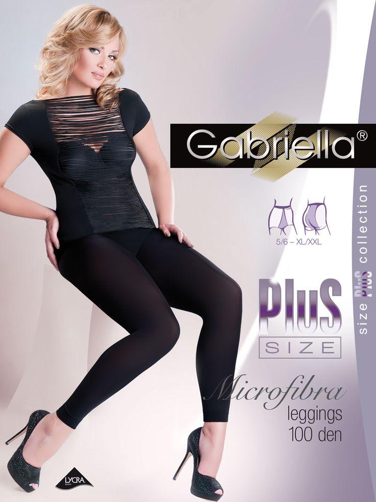 Gabriella microfibra leggins size plus   #Gabriella