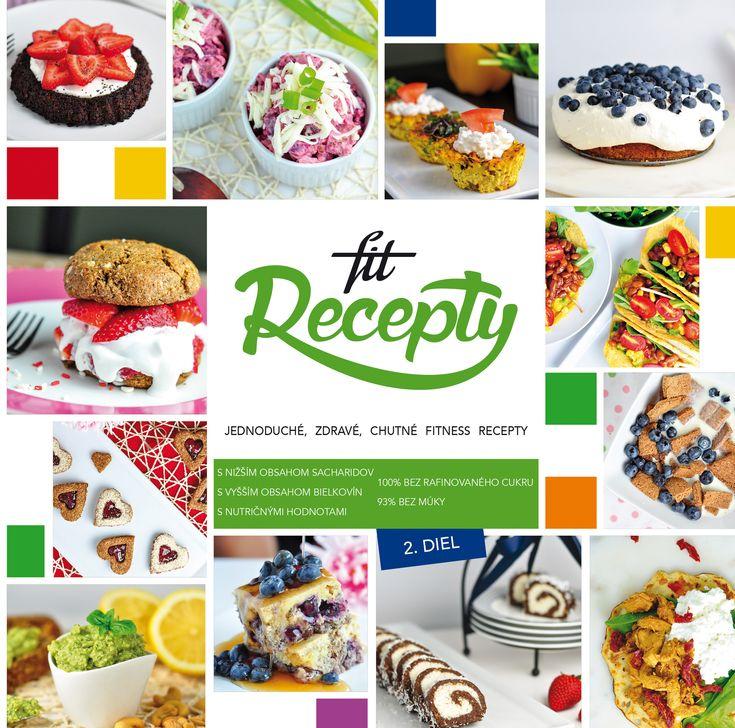Kniha Fit Recepty 2 (SK)