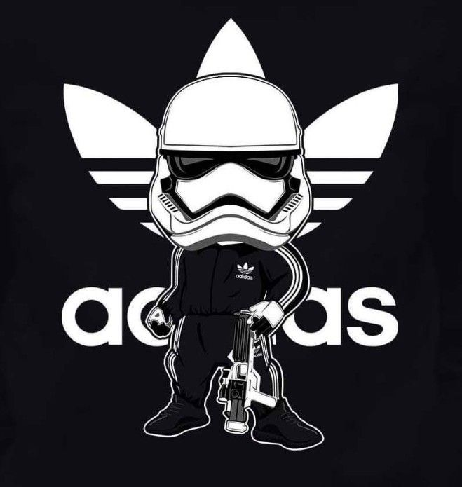 Stormtrooper Adidas Star Wars Artwork Adidas Wallpapers Star Wars Cartoon