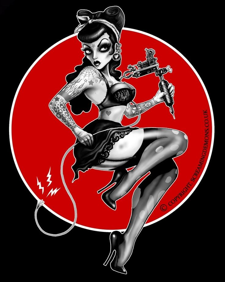 Pin up girl tattoo pictures, free sexy vedio clips