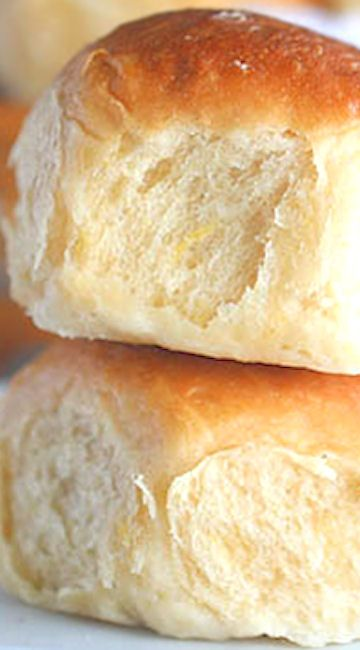 Hawaiian Coconut Bread Rolls.... sweet yeast rolls with coconut milk and crushed pineapple.