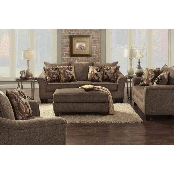 Clarwin Configurable Living Room Set In 2020 Brown Living Room Decor Brown Living Room Living Room Sets