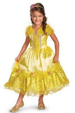 Disney Store - Belle NOU Rochie si jupon Marimea 7/8 ani Pret 78 lei