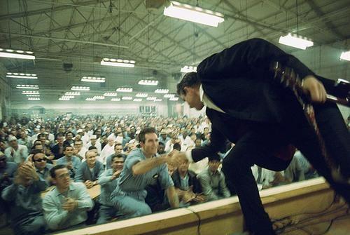 Johnny Cash at Folsom Prison in 1968
