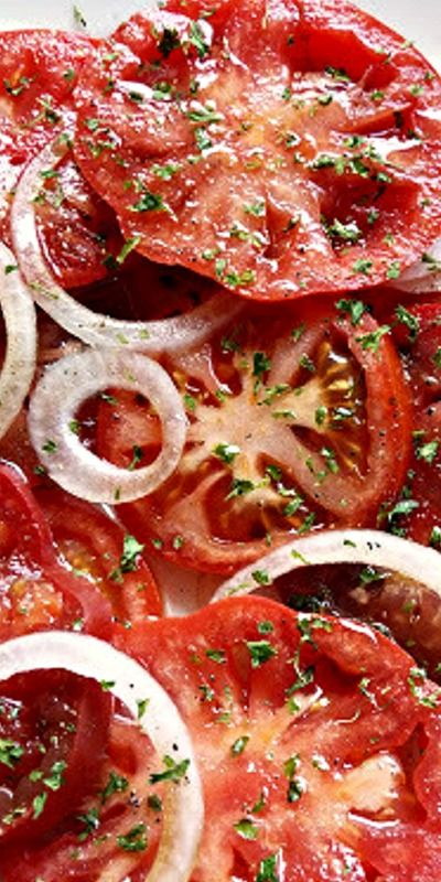 Balsamic Vinegar Tomato Salad