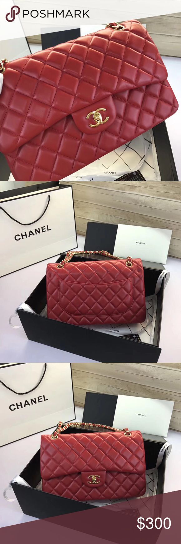 Chanel jumbo flap bag Brand new  Comes with box dust bag and authenticity card  Not authentiiiiiiiic  For serious inquiries or to purchase contact me  Oliviascloset303@gmail.com CHANEL Bags