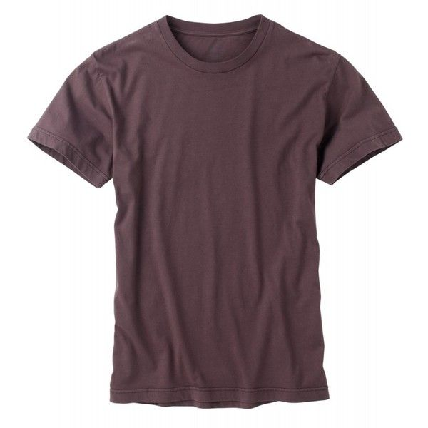 Men's Blank T-shirt ($26) ❤ liked on Polyvore featuring men's fashion, men's clothing, men's shirts, men's t-shirts, shirts, mens t shirts, mens organic cotton t shirts, men's regular fit shirts and organic cotton mens shirts