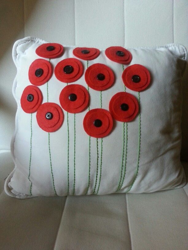 Poppyseed pillow