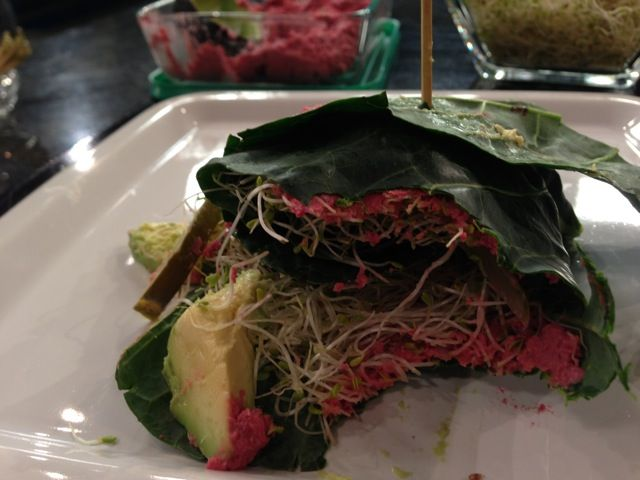 Beet Hummus Collard Wraps - looks SO yummy!   WATCH – Why You Should Make Your Own Hummus | Food Babe