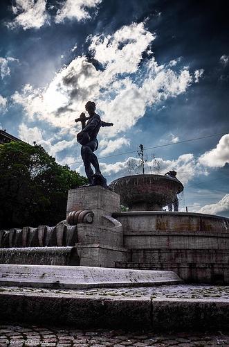 Fontana dei due Fiumi