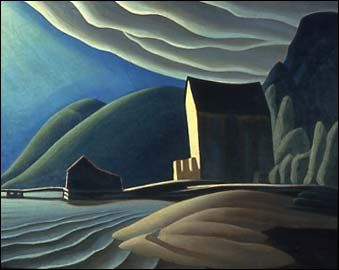 """""""The Ice House,"""" 1920, Lawren Stewart Harris (1885 - 1970)"""