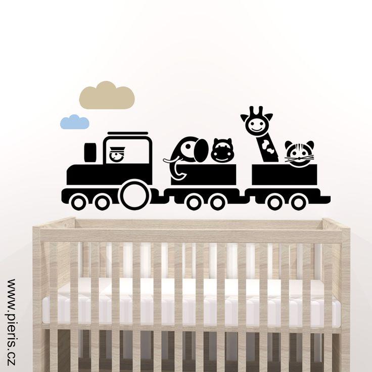 Vláček se zvířátky ze zoo. Na zeď. Ideálně se hodí nejen pro #SkandinavskyDetskyPokoj.  ------ #samolepka #pokojik #DetskyPokoj #KidsRoom #BabyRoom #SamolepkyNaYed #dekorace #DekoraceNaYed #Vyzdoba #pokojicek #detskypokoj #ProDeti #ProKluky #WallDecor #Decor #Decoration #Design #SimpleDesign #Kids #KidsDesign #KidsDecor #ScandinavianKidsRoom #Inspiration4Kids #Interior4Kids #ForKids