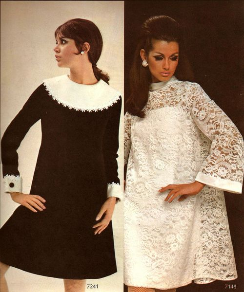Fall/Winter dresses from 1967.