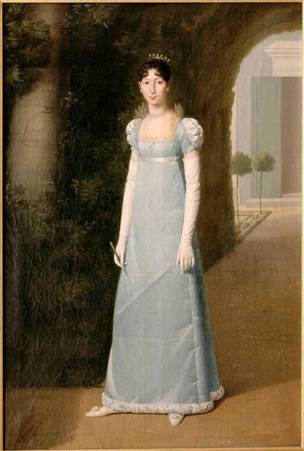 Charlotte Bonaparte, princesse de Canino, (fille aînée de Lucien Bonaparte, prince de Canino, future princesse Mario Gabrielli en 1815) (1795-1865)- représentée en 1808 par Jean-Pierre Granger (1779-1840)