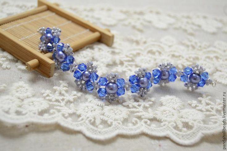 Плетем красивый браслет из бусин за 30 минут - Ярмарка Мастеров - ручная работа, handmade